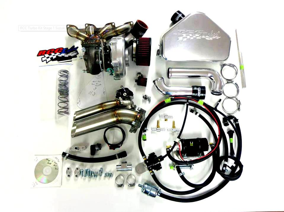 RCC Suzuki Hayabusa Stage 1 Turbo Kit 1999 - 2007