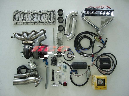 RCC Suzuki Hayabusa Stage 2 Turbo Kit 1999-2007