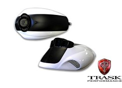 Trask Performance V-Rod Vented Airbox Cover / With Gauge Recess