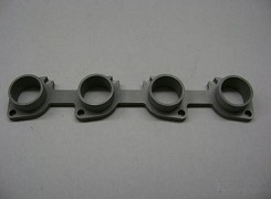One Piece Hayabusa Header Flange Cast with Head Spigots