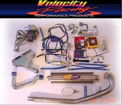 Velocty Racing Suzuki Hayabusa Stage 1 Turbo Kit